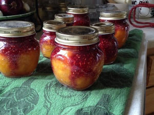 Lottsa' Peach Melba Jams