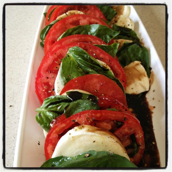 Last Caprese salad of the season