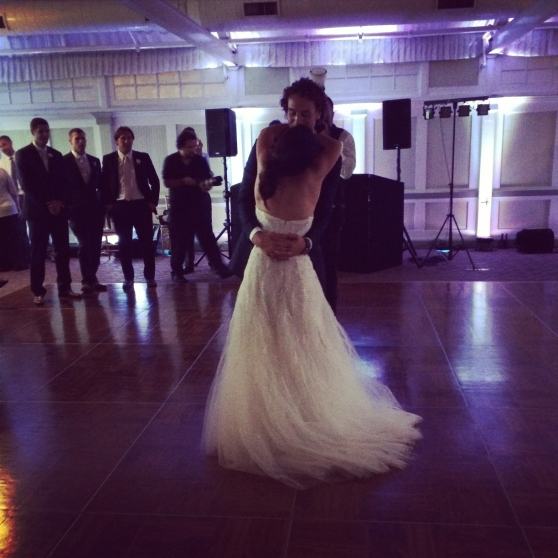 First Married dance together...